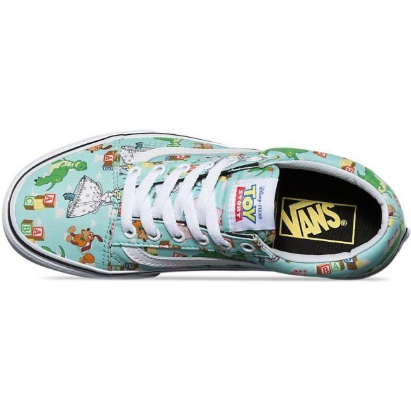 Vans U OLD SKOOL (Toy Story) Andy s Toys Blue tint  c6e45a87f04