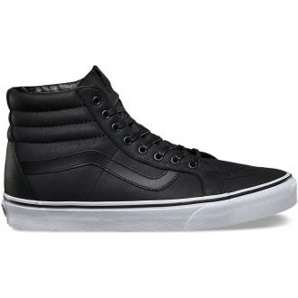 Vans U SK8-HI REISSUE (Premium Leather) Black/True white