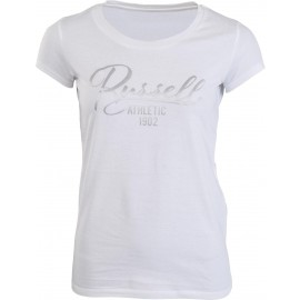 Russell Athletic CREW NECK TEE WITH STIN SCRIPT LOGO