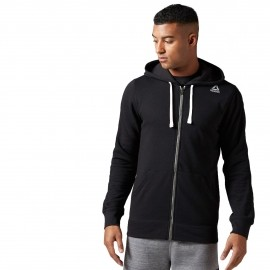 Reebok ELEMENTS SEASONAL FRENCH TERRY FULLZIP HOODIE