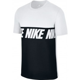 Nike NSW TEE AV15 BLK REPEAT