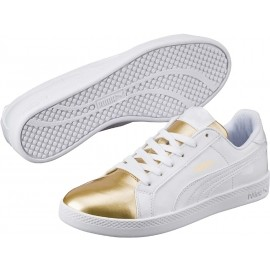 9dd7ffe416d Puma SMASH WNS METALLIC - Dámská módní obuv