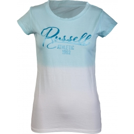 Russell Athletic SHADED CREW NECK TEE WITH SATIN