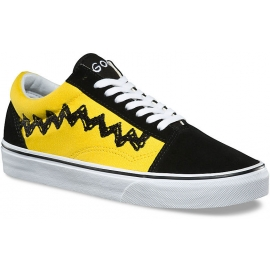 Vans UA OLD SKOOL (PEANUTS) CHARLIE BROWN Black