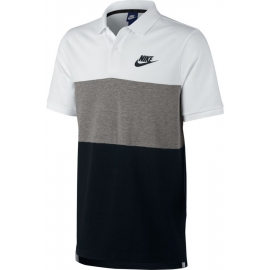 Nike NSW POLO PQ MATCHUP CLRBLK