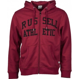 Russell Athletic ZIP THROUGH TACKLE TWILL HOODY