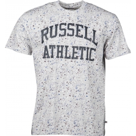 Russell Athletic S/S CREW NECK TEEWITH ALLOVER  SPLATTER PRINT