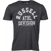 Russell Athletic S/S CREW NECK TEE WITH SINGLE COLOUR GRAPHIC PRINT