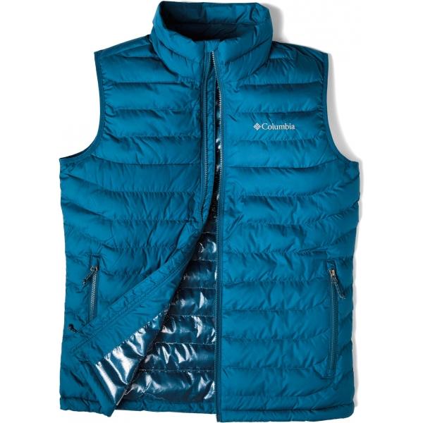 Páská zimní vesta