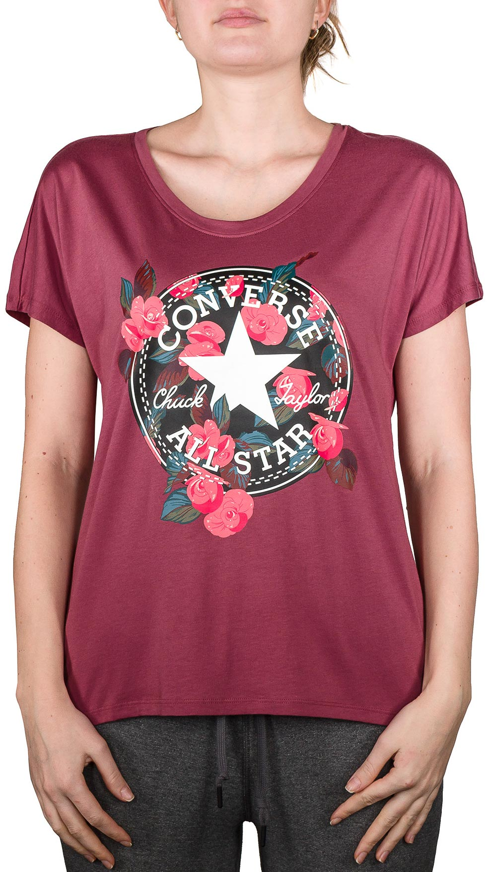 997ed9e2d01 Converse FLORAL CP FEMME TEE. Dámské tričko. Dámské tričko