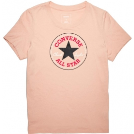 Converse CORE SOLID CHUCK PATCH CREW Dusk Pink