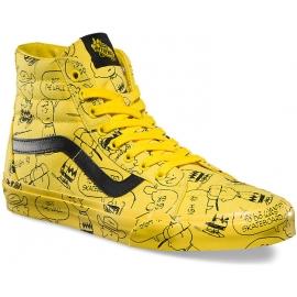 Vans UA SK8-HI REISSUE PEANUTS Charlie Brown/Maize