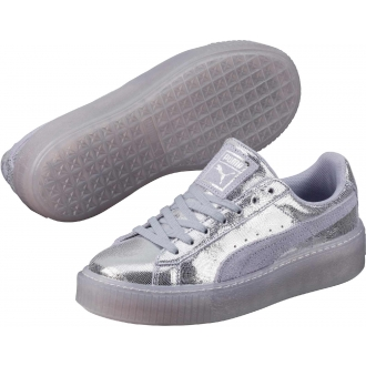 Dámské stříbrné tenisky