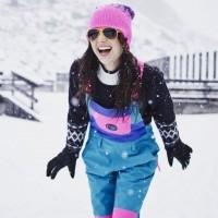Dámské snowboardové/lyžařské  kalhoty s laclem