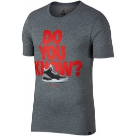 Nike M JSW TEE AJ3 DO YOU KNOW