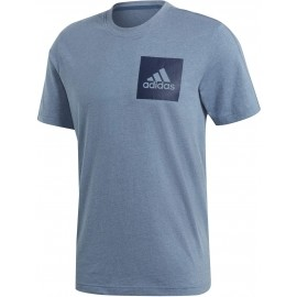 adidas ESSENTIALS CHEST BOX LOGO TEE