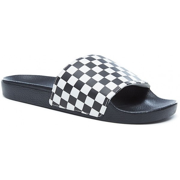 ac2767a538e Vans CHECKERBOARD SLIDE-ON