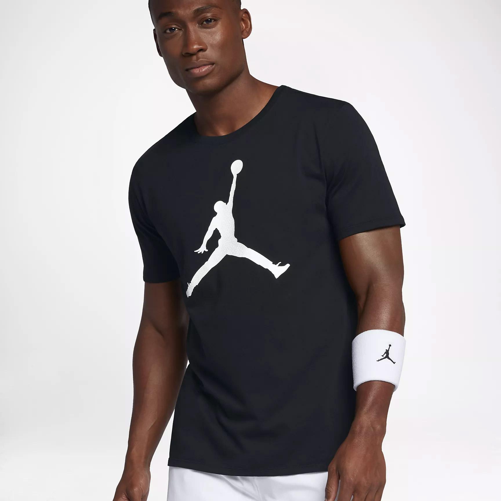 69dcb5095b247 Nike M JSW TEE ICONIC JUMPMAN. Pánské tričko Jordan. Pánské tričko Jordan