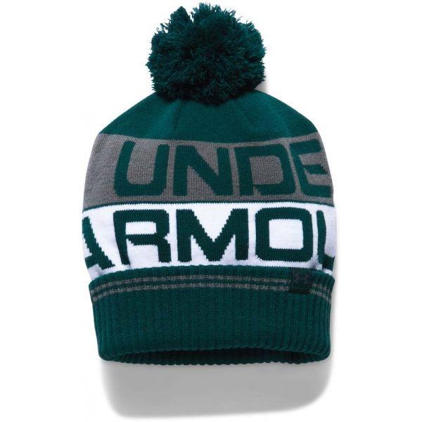ed5142ee254 Under Armour MEN S RETRO POM BEANIE 2.0