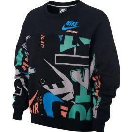 Nike W NSW CREW FLC AOP IDJ