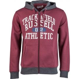 Russell Athletic ZIP THROUGH HOODY  WITH GRAPHIC PRINT