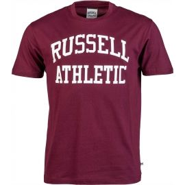 Russell Athletic S/S RAGLAN CREW NECK TEE - RUSSELL SCRIPT