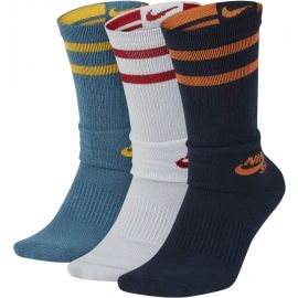 Nike UNISEX SB CREW SKATEBOARDING SOCKS 3 PAIRS