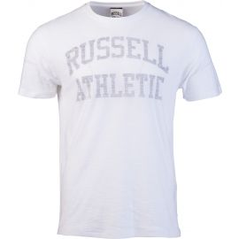 Russell Athletic CLASSIC S/S CREW NECK REVERSE PRINTED TEE SHIRT