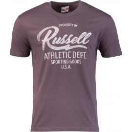 Russell Athletic PROPERTY OF S/S CREWNECK TEE SHIRT