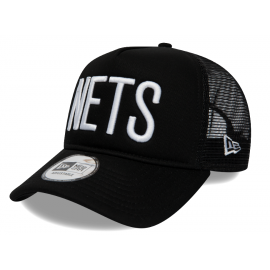 New Era TEAM TRUCKER BROOKLYN NETS