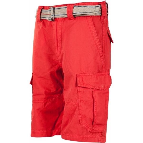 CARGO SHORTS WITH BELT - Pánské šortky