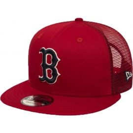 New Era 9FIFTY MLB ESSENTIAL A FRAME BOSTON RED SOX TRUCKER CAP