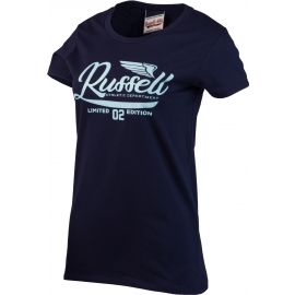 Russell Athletic GLITTER PRINTED WINGS S/S CREWNECK TEE SHIRT