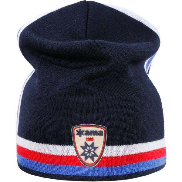 Retro čepice s trikolorou