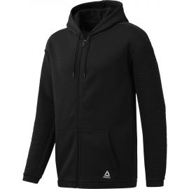 Reebok WORKOUT READY FLEECE FULL ZIP HOODIE