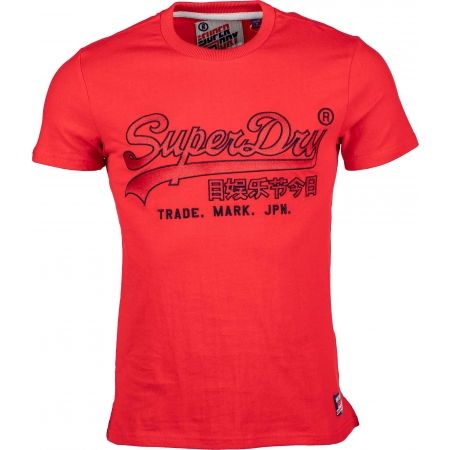 Superdry DOWNHILL RACER APPLIQUE TEE