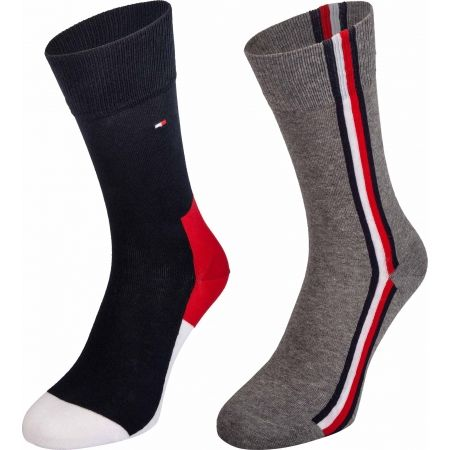 Tommy Hilfiger MEN ICONIC HIDDEN SOCK 2P