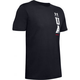Under Armour VERTICAL LEFT CHEST LOGO SS