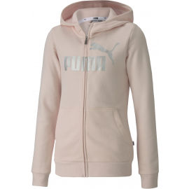 Puma ESS+HOODED SWEAT JACKET